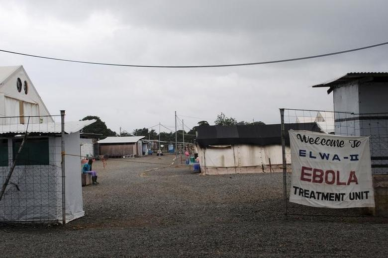 An Ebola virus treatment center is seen in Paynesville, Liberia, July 16, 2015. REUTERS/James Giahyue