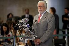O ministro-chefe da Casa Civil, Jaques Wagner, concede entrevista coletiva no Palácio do Planalto, em Brasília. 03/12/2015 REUTERS/Ueslei Marcelino