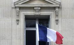 Bandeira nacional francesa vista em Paris.   27/11/2015    REUTERS/Christian Hartmann