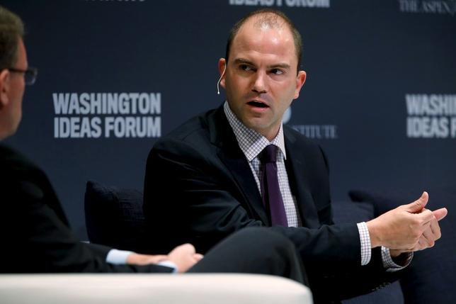 Deputy U.S. National Security Advisor Ben Rhodes participates in the Washington Ideas Forum in Washington, September 30, 2015. REUTERS/Jonathan Ernst