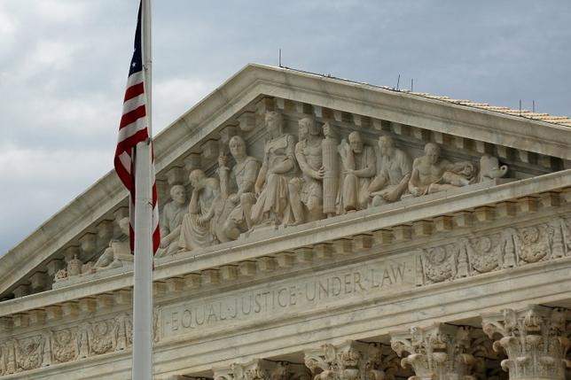 A view of the U.S. Supreme Court building is seen in Washington, October 13, 2015. REUTERS/Jonathan Ernst