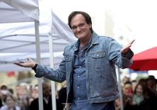 Tarantino, na Calçada da Fama em Hollywood 21/12/2015 REUTERS/Kevork Djansezian