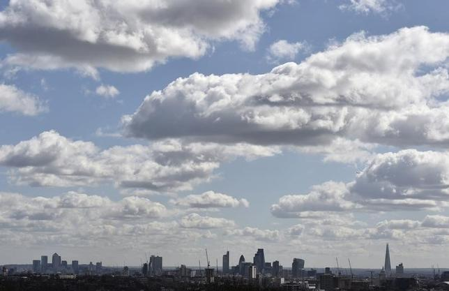 The City of London financial district is seen from Parliament Hill in north London March 31, 2015. REUTERS/Toby Melville