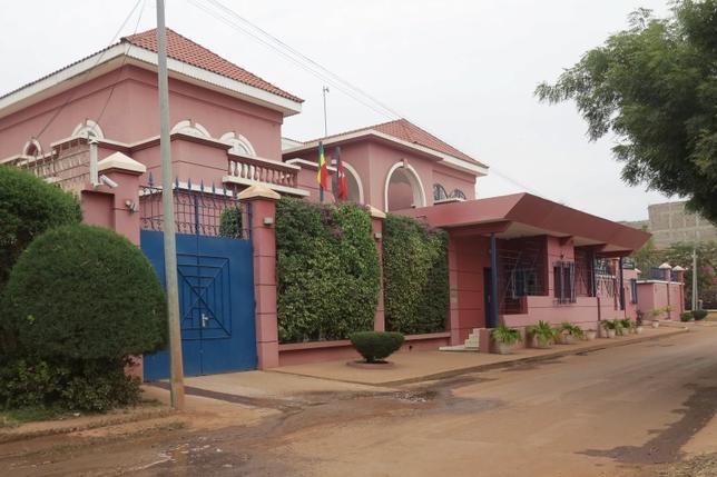 The Swiss embassy is seen in Bamako, Mali, January 8, 2016. REUTERS/Adama Diarra