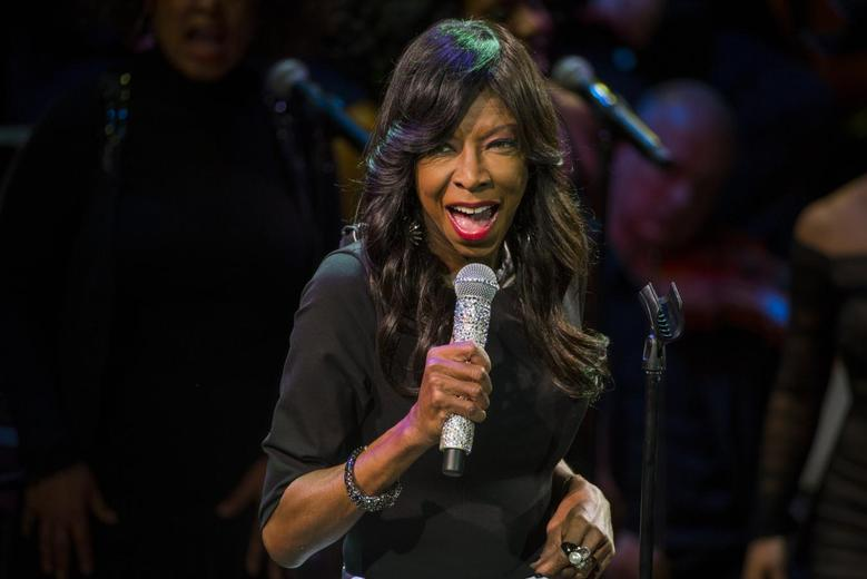 Singer Natalie Cole sings at ''An Evening of SeriousFun Celebrating the Legacy of Paul Newman'' event in New York March 2, 2015. REUTERS/Lucas Jackson