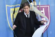 Técnico Rudi Garcia, demitido pela Roma nesta quarta-feira. 06/01/2016 REUTERS/Alberto Lingria