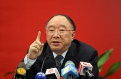 Prefeito de Chongqing, Huang Qifan, em Pequim. 04/03/2011 REUTERS/Stringer