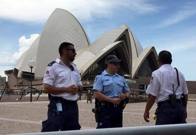 1月14日、報道によると、シドニーの観光名所「オペラハウス」で14日、避難騒ぎがあった。シドニーで撮影(2016年 ロイター/Matt Siegel)