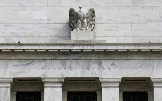1月27日、米FOMCが金利据え置きを決定した。写真はワシントンのFRB。2012年8月撮影(2016年 ロイター/Larry Downing)