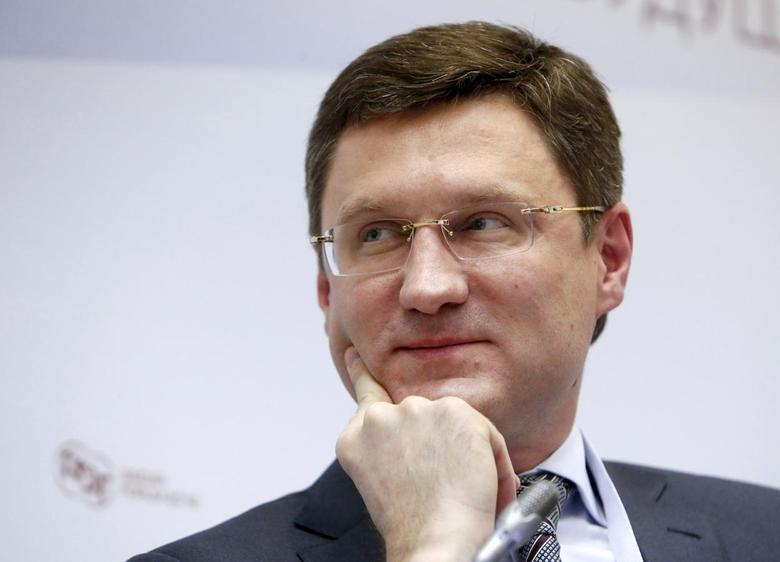 Russian Energy Minister Alexander Novak attends a session of the Gaidar Forum 2016 'Russia and the World: Looking to the Future' in Moscow, Russia, January 14, 2016. REUTERS/Sergei Karpukhin