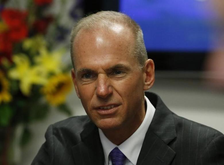 Dennis Muilenburg can be seen in this file photo taken in Washington September 11, 2014. REUTERS/Larry Downing/Files