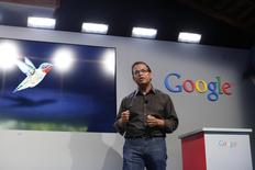 Amit Singhal, senior vice president of search at Google, in Menlo Park, California in this September 26, 2013 file photo. REUTERS/Stephen Lam