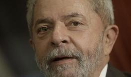 Ex-presidente Lula, no Rio de Janeiro  3/12/ 2015 REUTERS/Ricardo Moraes