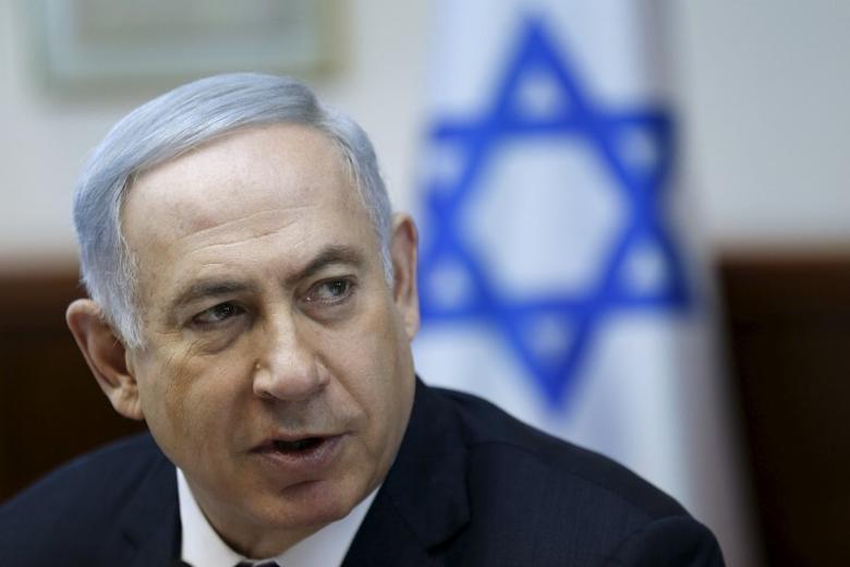 Israeli Prime Minister Benjamin Netanyahu attends the weekly cabinet meeting in Jerusalem January 31, 2016. REUTERS/Amir Cohen