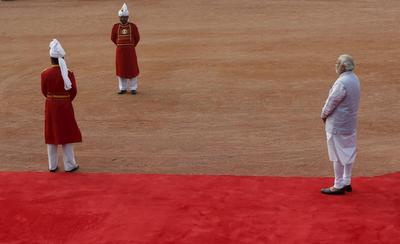 Crown Prince of Abu Dhabi in India