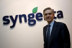 Syngenta's Chief Operating Officer Davor Pisk poses for a photo after an interview with Reuters at their office in Singapore, February 12, 2016. REUTERS/Edgar Su