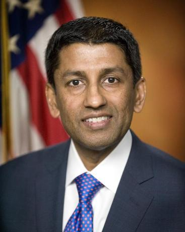 Sri Srinivasan is pictured in this undated photo courtesy of the U.S. Department of Justice. REUTERS/United States Department of Justice/Handout via Reuters