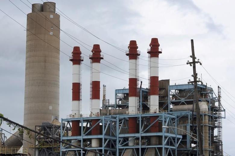 The power station Central San Juan of Puerto Rico Electric Power Authority (PREPA) is seen in San Juan, Puerto Rico, June 30, 2015.   Reuters/Alvin Baez-Hernandez