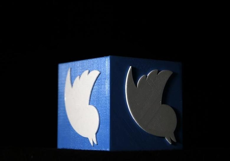 A 3D printed Twitter logo is seen in this illustration picture made in Zenica, Bosnia and Herzegovina, February 3, 2016. REUTERS/Dado Ruvic  . SAP is the sponsor of this content. It was independently created by Reuters' editorial staff and funded in part by SAP, which otherwise has no role in this coverage.