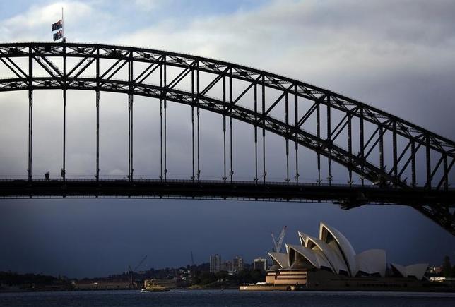 2月23日、オーストラリアでは教育セクターの急成長が人口増加につながっており、経済への貢献度も増している。写真はシドニーで2014年7月撮影(2016年 ロイター/David Gray)
