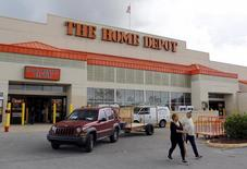 A Home Depot store is shown in the Little Havana neighborhood in Miami, Florida, September 18, 2015. REUTERS/Joe Skipper
