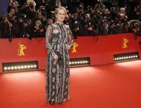 Atriz Meryl Streep durante Festival de Cinema de Berlim. 11/02/2016 REUTERS/Fabrizio Bensch