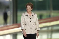 Presidente Dilma Rousseff no Palácio da Alvorada, em Brasília. 19/02/2016 REUTERS/Ueslei Marcelino