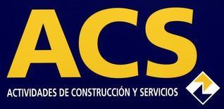El grupo español de construcción y servicios ACS dijo el domingo que su filial Dragados se adjudicó un contrato de 379 millones de euros para construir un centro de tratamiento de aguas residuales en Sacramento, California.  En la imagen de archivo, el logo de la constructora española ACS, situado en la sede del grupo en Madrid, el 26 de mayo de 2008. REUTERS/Sergio Perez