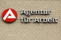 Le nombre de demandeurs d'emploi en Allemagne a reculé de 10.000 à 2,723 millions. Le taux de chômage est resté à son plus bas niveau depuis la réunification. /Photo d'archives/ Ina Fassbender