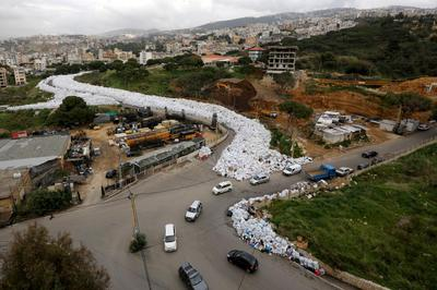 Beirut's river of garbage