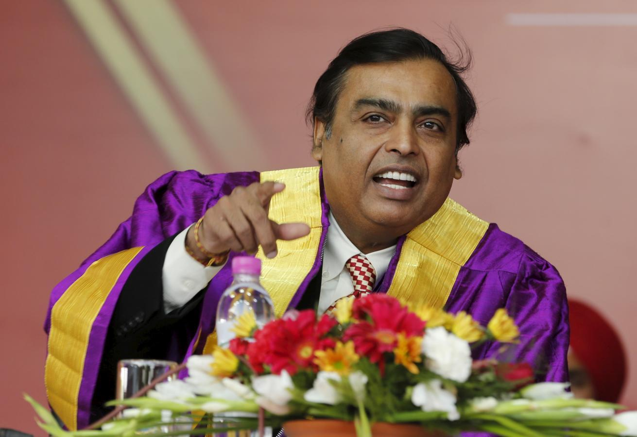 Ambani's $20 billion bet on TV, telecoms may rekindle wealthy...