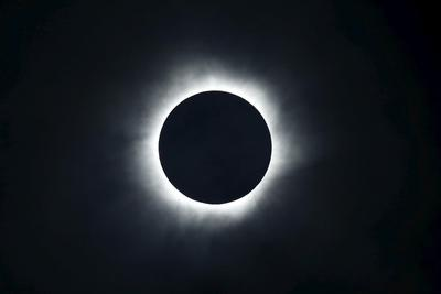 Indonesia's rare solar eclipse