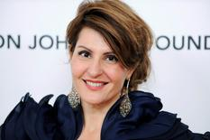 Actress Nia Vardalos arrives at the 19th Annual Elton John AIDS Foundation Academy Award Viewing Party in West Hollywood, California February 27, 2011.  REUTERS/Gus Ruelas