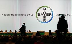 File photo of a general view showing the annual general meeting of Bayer AG in Cologne April 27, 2012. REUTERS/Ina Fassbender