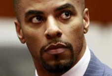 Former National Football League star Darren Sharper appears in court in Los Angeles, California, in this file pool photo taken March 23, 2015.   REUTERS/Nick Ut/Pool/Files