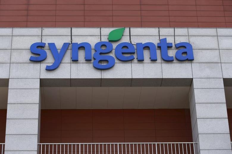 Syngenta's logo is seen at Syngenta Biotech Center in Beijing, China, February 19, 2016. Picture taken February 19, 2016. REUTERS/Kim Kyung-Hoon