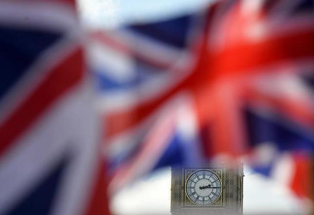 3月24日、米大統領選の共和党候補指名争いでトップを走る不動産王ドナルド・トランプ氏は、英国の欧州連合(EU)離脱の是非を問う国民投票について、移民問題に関する懸念から離脱賛成派が多くなると予想を明らかにした。写真はロンドンで2月撮影(2016年 ロイター/Hannah Mckay)