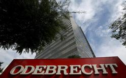 En la imagen, sede de la compañía Odebrecht SA en Sao Paulo, Brasil. 22 marzo 2016. Odebrecht SA, la firma de ingeniería que está en el centro de la mayor investigación de sobornos en Brasil, puso en venta hasta 12.000 millones de reales (3.340 millones de dólares) en activos para recaudar capital mientras enfrenta una creciente deuda, dijo el presidente ejecutivo Newton de Souza a Folha de S.Paulo. REUTERS/Paulo Whitaker
