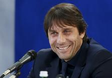 Antonio Conte durante evento na Itália.     REUTERS/Alessandro Garofalo