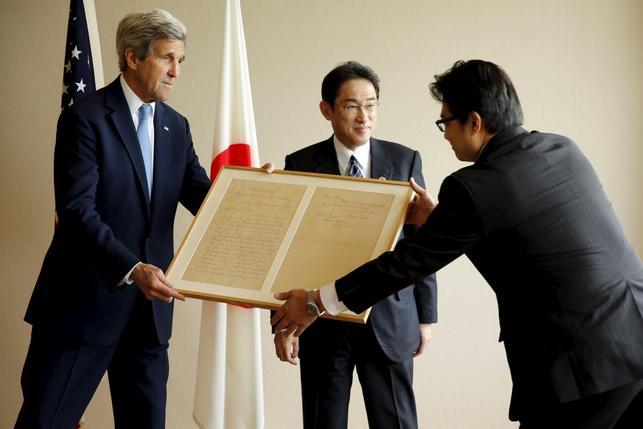 Kerry becomes highest-ranking American to visit Hiroshima memorial