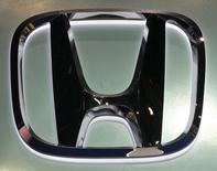The logo of Honda Motors is pictured at at the 37th Bangkok International Motor Show in Bangkok, Thailand, March 22, 2016.  REUTERS/Chaiwat Subprasom