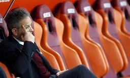 Sinisa Mihajlovic durante partida do Milan em Roma.   09/01/2016     REUTERS/Giampiero Sposito