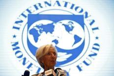 Глава МВФ Кристин Лагард на сессии заседания министров финансов G20 в Китае. Международный валютный фонд убеждает Армению воплотить в жизнь ее планы улучшить сбор налогов, что помогло бы увеличить доходы казны, оскудевшей на фоне рецессии в России. REUTERS/Aly Song
