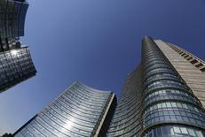The UniCredit bank headquarters is seen in Milan, Italy, in this January 19, 2016 file photo. REUTERS/Stefano Rellandini