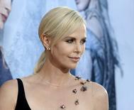 """Charlize Theron em evento do filme """"O Caçador e a Rainha do Gelo"""" em Los Angeles. 11/4/2016. REUTERS/Kevork Djansezian"""