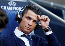 Cristiano Ronaldo durante partida contra Manchester City pela Liga dos Campeões.   26/04/2016 Action Images via Reuters / Carl Recine Livepic