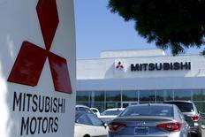 A Mitsubishi Motors dealership is shown in Poway, California July 27, 2015.  REUTERS/Mike Blake/File Photo
