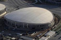 Vista aérea do Velódromo dos Jogos Rio 2016 25/04/2016 REUTERS/Ricardo Moraes