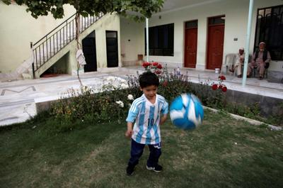 Messi's biggest fan flees
