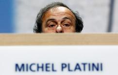 Presidente suspenso da Uefa, Michel Platini.      01/06/2011       REUTERS/Arnd Wiegmann/Files